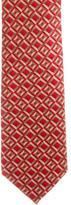 Burberry Square Print Silk Tie