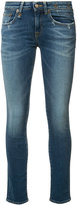 R 13 Kate skinny low rise jeans - women - Cotton/Polyester/Spandex/Elastane - 26