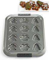 Anolon Holiday Cookie Mold Sheet, 12 Cavity