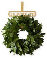 Brass Finish Wreath Hanger