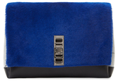 Proenza Schouler Elliot Pony Hair & Leather Clutch