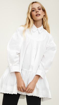Simone Rocha Short Gathered Shirt