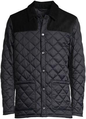 Barbour Regular-Fit Tartan Gillock Quilted Jacket