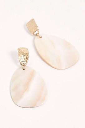 Free People Starlight Shell Earrings