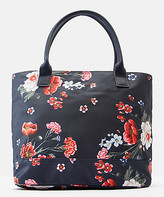 Joules Women's Handbags - Navy Floral Carriwell Canvas Tote
