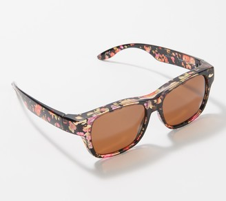 Foster Grant Solar Shield Signature Pastel Floral Fits Over