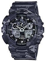 G-Shock Full Grey Camo Analog/Digital Watch