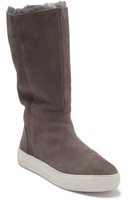 J/Slides Antonia Faux Fur Lined Tall Sneaker