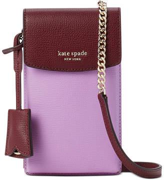 Kate Spade Sylvia North South Flap Leather Crossbody