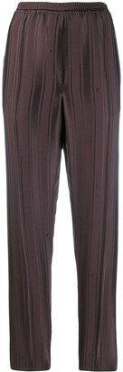 Golden Goose striped elasticated trousers