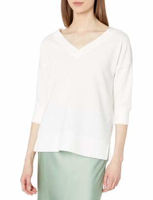 French Connection Women's Sudan Solid Color Jumper Top