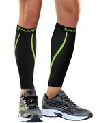 Baleaf Unisex Calf Compression Leg Sleeve Shin Support Calf Socks for Running, Cycling, Hiking, Shin Splints and Varicose Veins