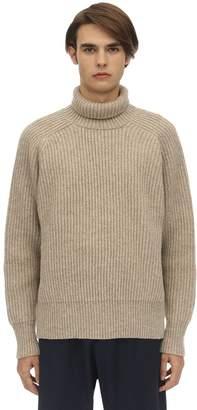 Ami Alexandre Mattiussi Oversize Wool Knit Sweater