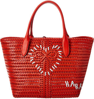 Anya Hindmarch Heart Neeson Leather Tote