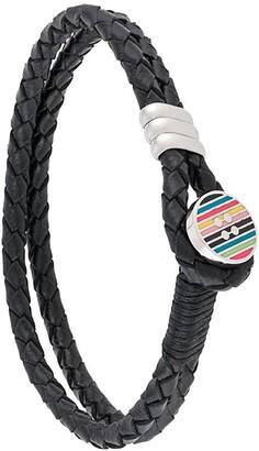 Paul Smith Colour-Block Button Bracelet