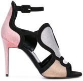 Pierre Hardy Patch sandals