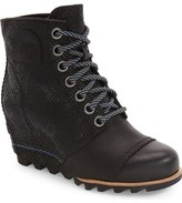 Sorel '1964 Premium Canvas' Waterproof Wedge Bootie (Women)