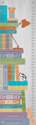 "Oopsy Daisy Fine Art For Kids Growth Chart, Stack of Books, 12"" x 42"""