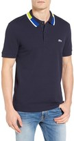 Lacoste Men's Contrast Collar Pique Polo