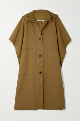 LVIR Hooded Cotton Coat - Camel