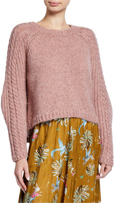 Forte Forte Baby Alpaca Crewneck Sweater