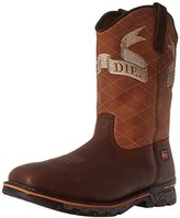 Timberland Men's Independence Square Soft-Toe Unlined Industrial and Construction Boot