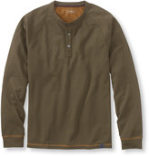 L.L. Bean Waypoint Performance Henley, Two-Tone