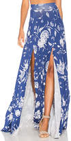 Rachel Pally Josephine Maxi Skirt in Blue