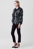 Diane von Furstenberg Meryl Fur Jacket