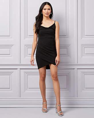 Le Château Knit Cowl Neck Dress
