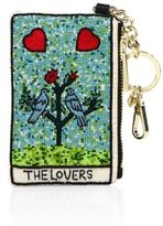 Alice + Olivia The Lovers Beaded Coin Wallet