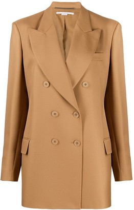 Stella McCartney Oversized Double-Breasted Blazer