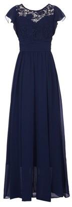 Dorothy Perkins Womens Jolie Moi Navy Crochet Maxi Dress