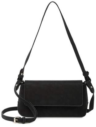 Most Wanted Design by Carlos Souza Smooth Baguette Shoulder Bag