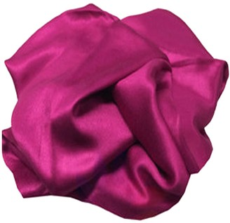 HAAS TRADING High Quality Pashmina Hijab Scarf Silk Satin Sateen Stole Neck Wrap Bride Shawls (Magenta)