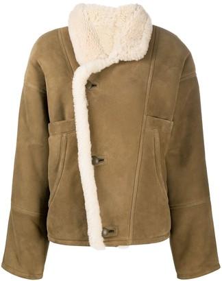 Sandro Sherly shearling jacket