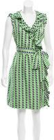Kate Spade Silk Geometric Print Dress