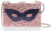 Kate Spade Dress the part glitter mask clutch