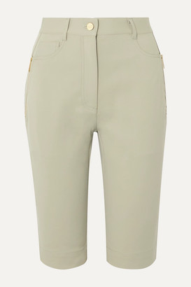 Dion Lee Denim Shorts - Light green