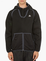 Adidas By Kolor Black Spacer Mesh Jacket