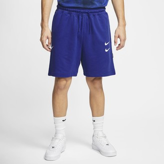 Nike Men's French Terry Shorts Sportswear Swoosh