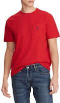 Polo Ralph Lauren Big and Tall Short-Sleeved Pocket Crewneck T-Shirt