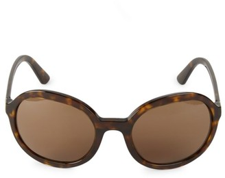 Prada 56MM Round Sunglasses