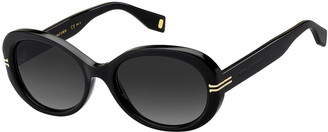 Marc Jacobs Oval Acetate Sunglasses