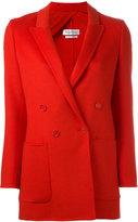 Max Mara double breasted blazer - women - Spandex/Elastane/Acetate/Angora/Virgin Wool - 42