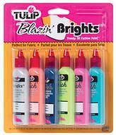 Tulip 3D Fashion Paint 1-1/4 Ounces 6/Pkg