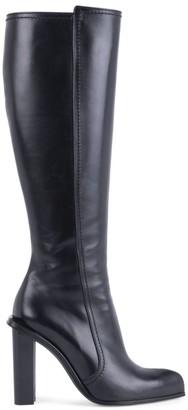 Alexander McQueen Knee-High Leather Boots