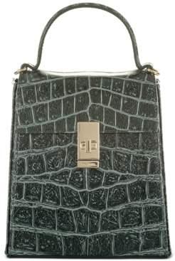 Brahmin Obsidian Veil Midge Satchel