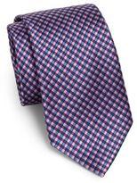 Burma Bibas Natte Woven Silk Tie