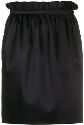 Versace Paperbag Waist Mini Skirt